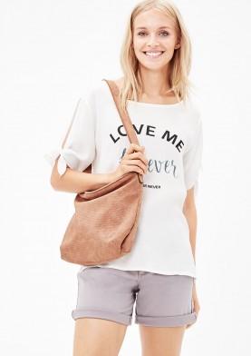 s.Oliver dámská kabelka s vyraženým vzorem