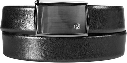 Bugatti pánský pásek s plnou přeskou 788/05 Černá 115