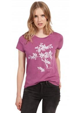 Tom Tailor tričko s květinovým potiskem
