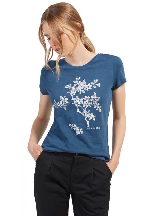 6005b2043577 Tom Tailor tričko s květinovým potiskem - Superjeans.cz