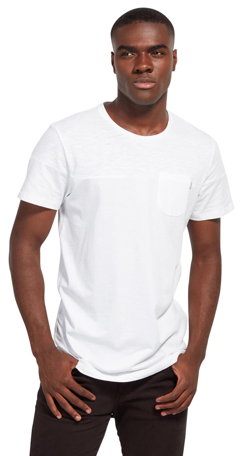 Tom Tailor triko s kapsičkou 10385930071/2000 Bílá XXL