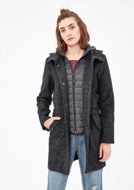 s.Oliver podzimní kabát s kapucí