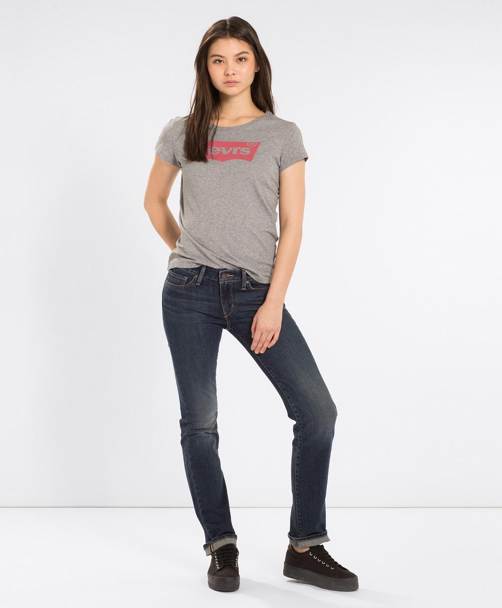 Levi´s® dámské džíny 714 Straight 21834-0036 Modrá W29/L32