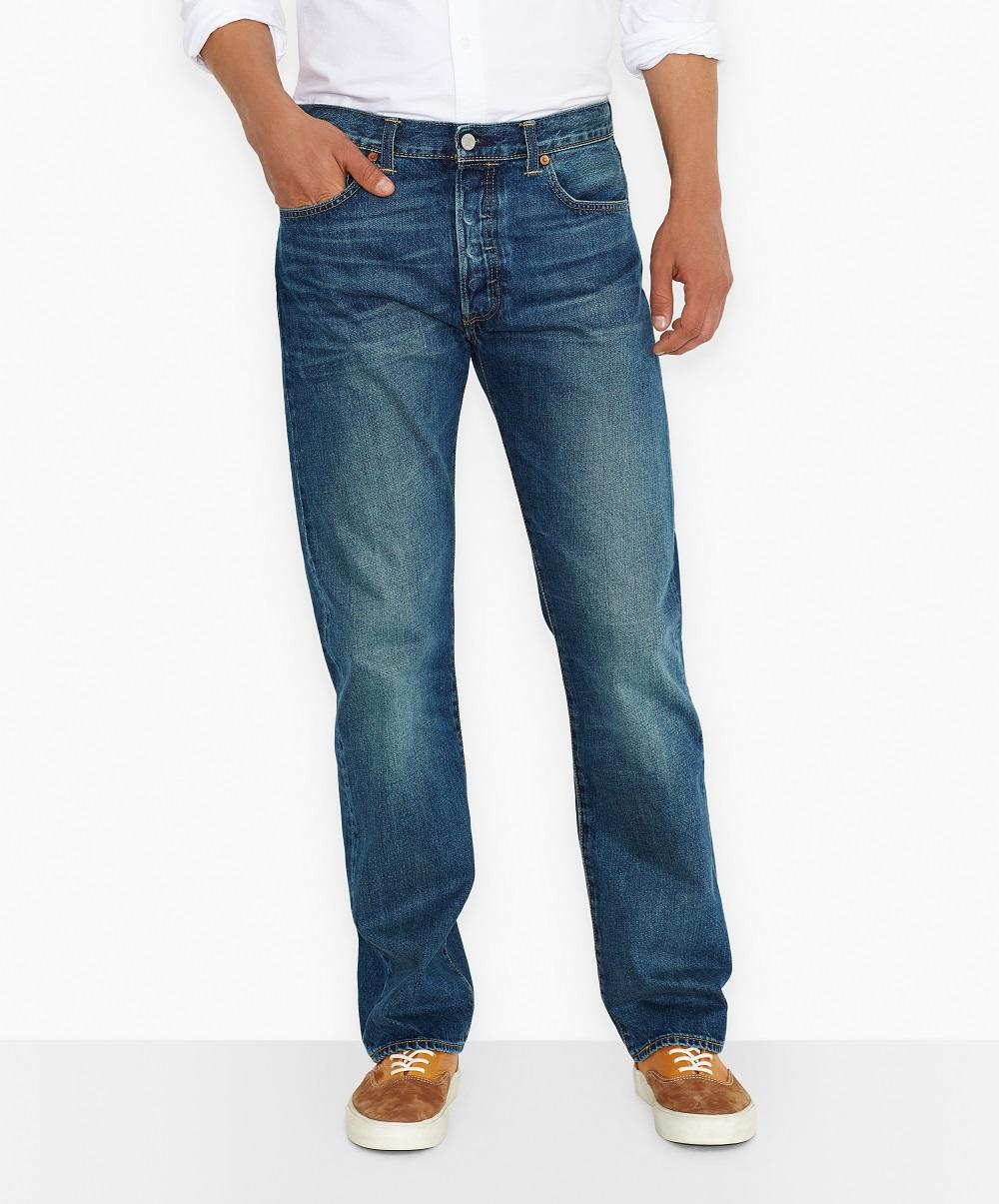 Levi´s pánské kalhoty 501® 00501-1307 Modrá W36/L32