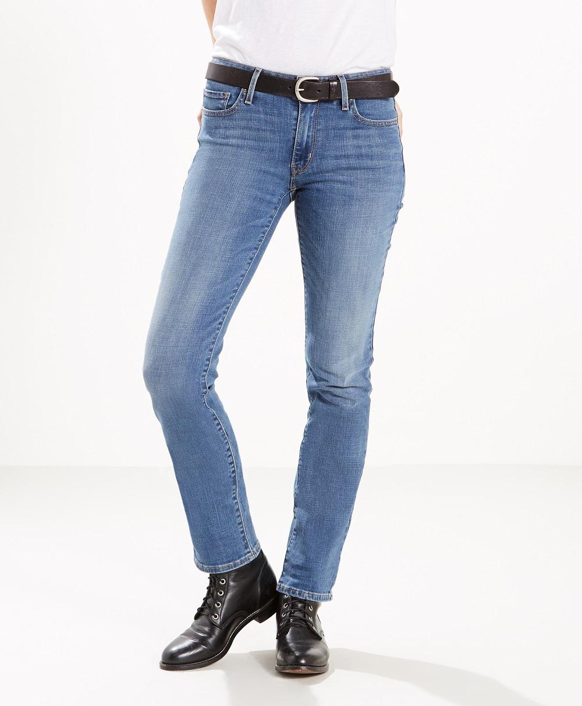 d8f491ebee2 Levi´s dámské kalhoty 712 SLIM 18884-0101 Modrá W27 L32