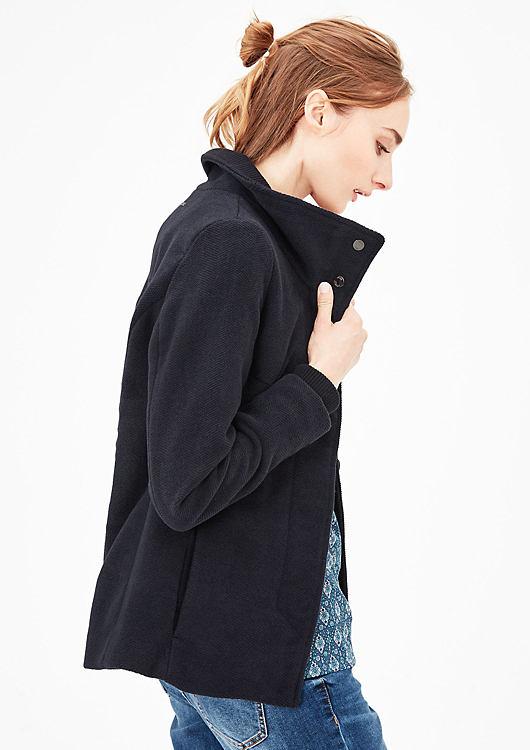 s.Oliver dámský krátký kabát 05.709.51.3051/59W0 Modrá 38