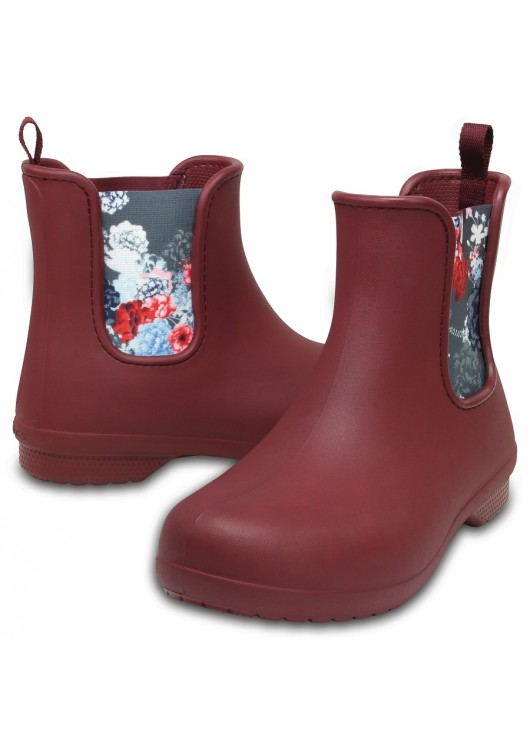 Crocs Freesail Chelsea Boot Garnet