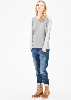 s.Oliver šedý pulovr