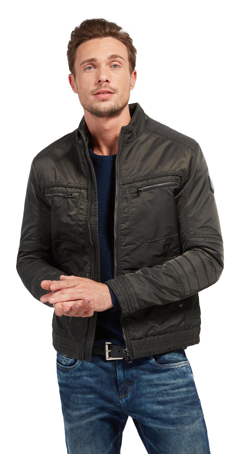 Tom Tailor pánská podzimní bunda 3533490/2660 Šedá XL
