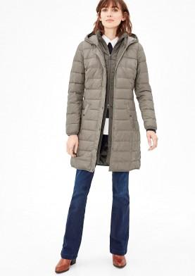 s.Oliver dámský péřový kabát dlouhý