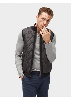 Tom Tailor pánská prošívaná vesta