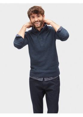 Tom Tailor pánský svetr s knoflíky