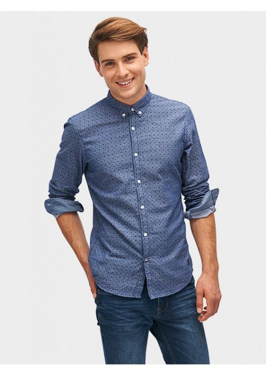 Tom Tailor Denim košile v denimovém vzhledu