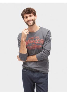 Tom Tailor pánské triko s dlouhým rukávem