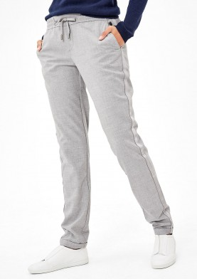 s.Oliver dámské chino kalhoty šedé