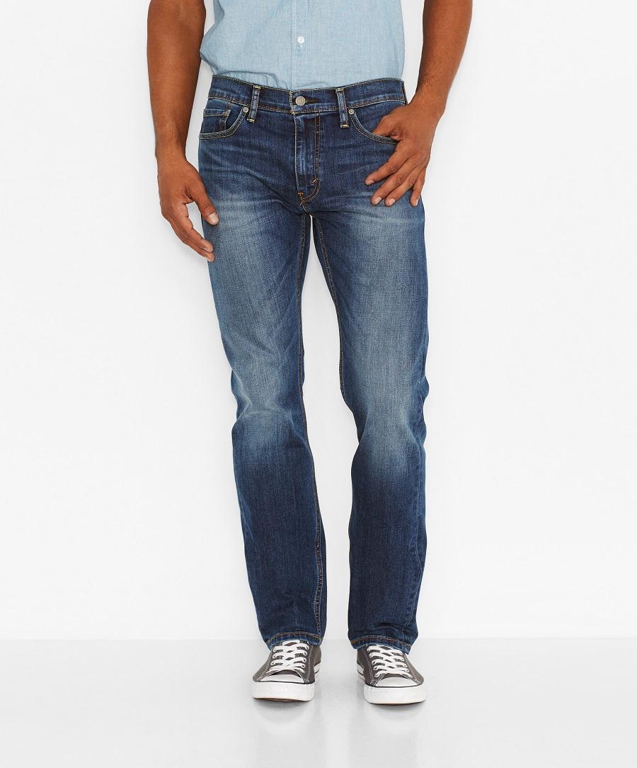 Levi´s pánské džíny modré 504 29990-0453 Modrá W34/L34
