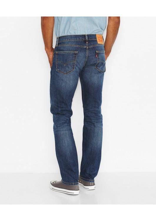 Levi´s pánské džíny modré 504 - Superjeans.cz 669e24e510