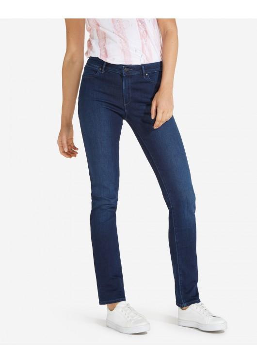 Wrangler dámské džíny modré Slim - Superjeans.cz 1bd1544e76