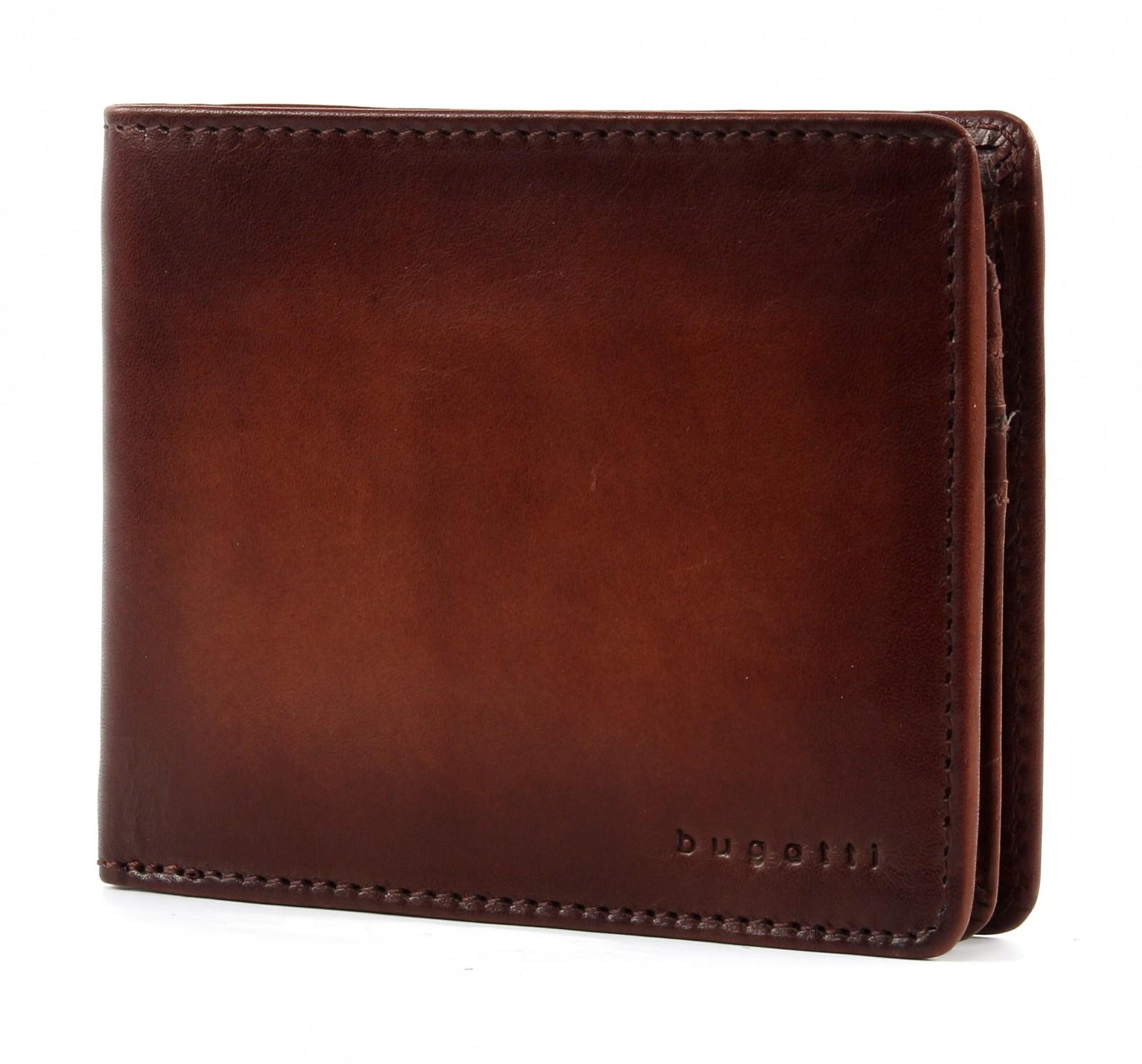 Bugatti pánská kožená peněženka 49322907 Hnědá