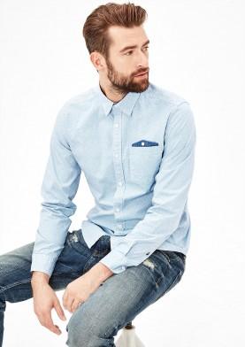 s.Oliver pánská košile s malou kapsičkou