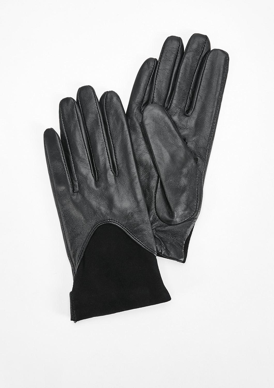 Oliver kožené rukavice 39.711.96.3173 9999 Černá M 3ea12af111