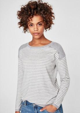 s.Oiver dámský svetr s proužky