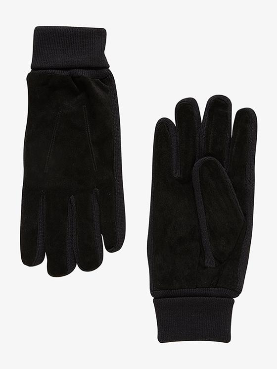 Tom Tailor pánské rukavice 02218040010/2999 Černá L/XL