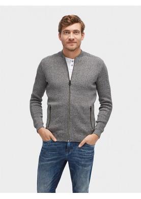 Tom Tailor pánský svetr se zipem