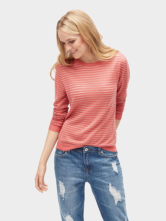 Tom Tailor dámský svetr 30550580010/4761 Růžová XL