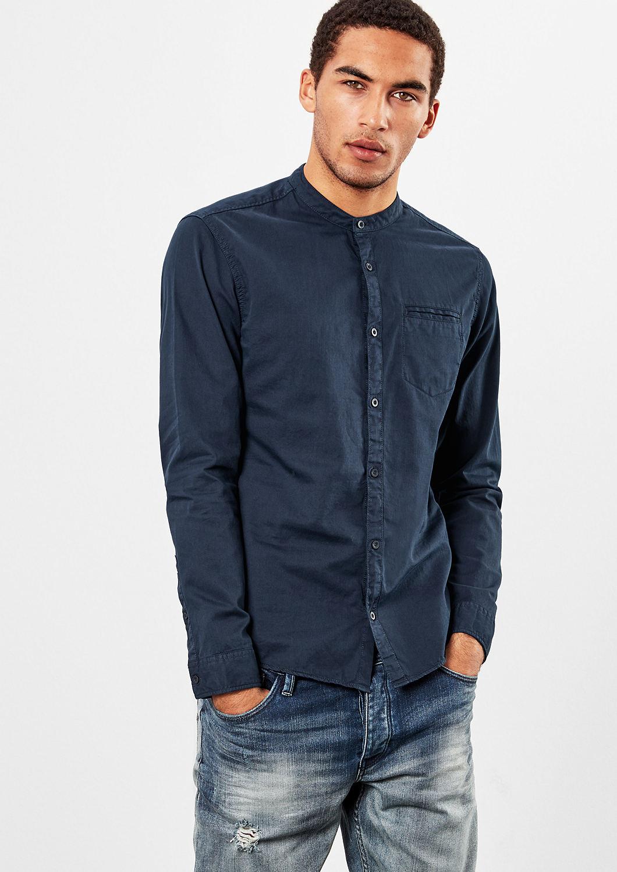 s.Oliver Q/S pánská košile 40.711.21.6026/5978 Modrá M