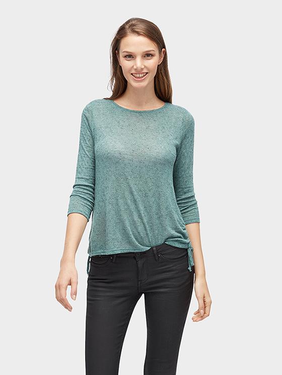 Tom Tailor Denim dámské tričko 10552650010/7839 Zelená XL