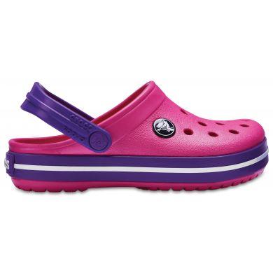 Crocband Kids Paradise Pink Růžová 34-35