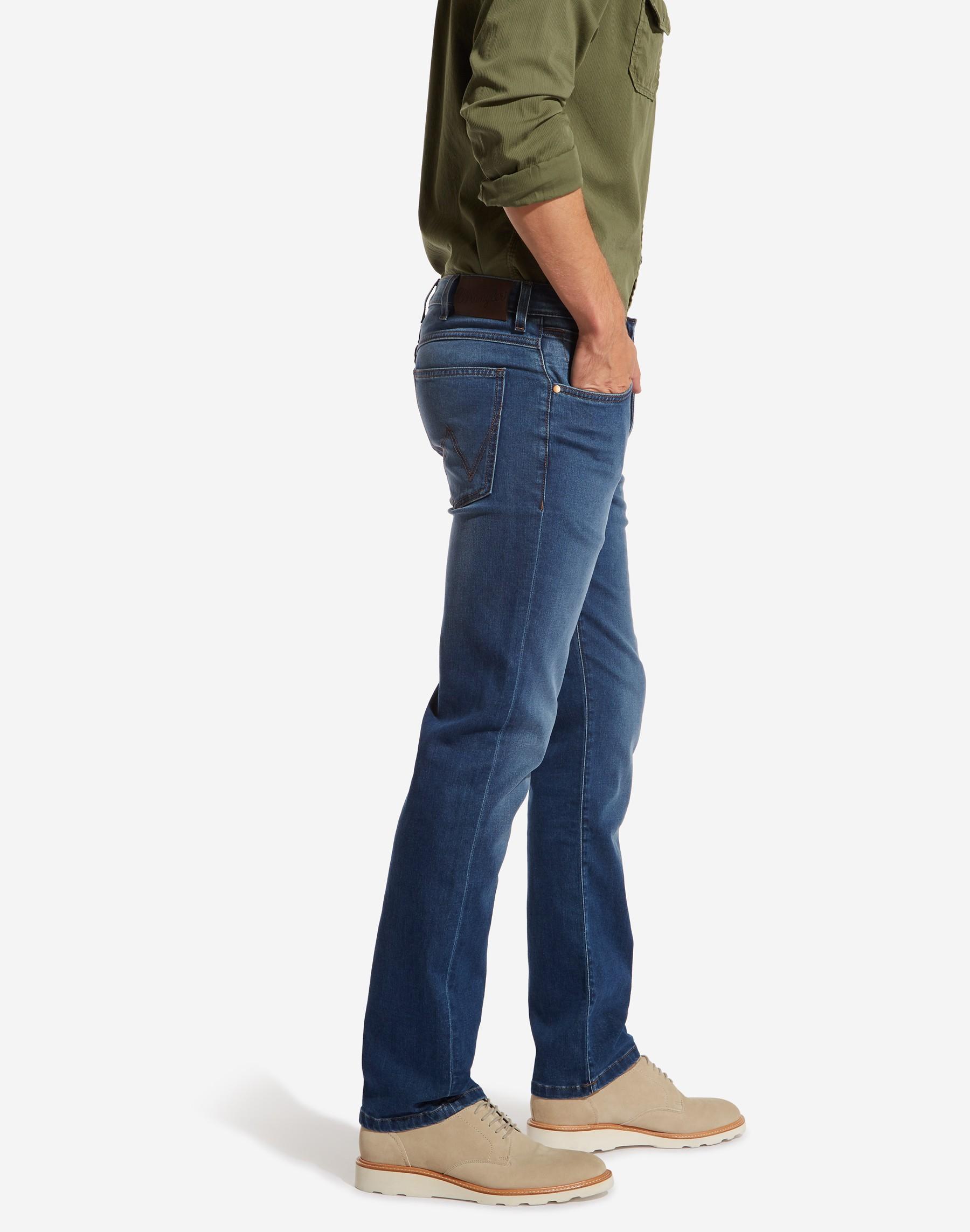 Wrangler pánské džíny Arizona W12ODC10M Modrá W38/L36