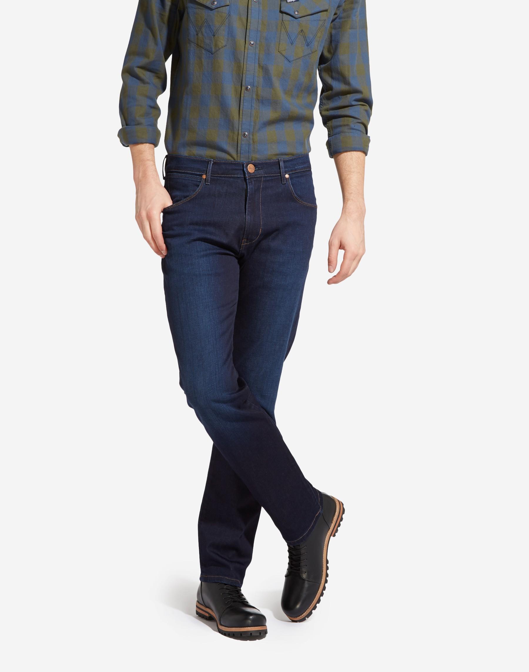Wrangler pánské džíny Arizona W12OMU91O Modrá W38/L36