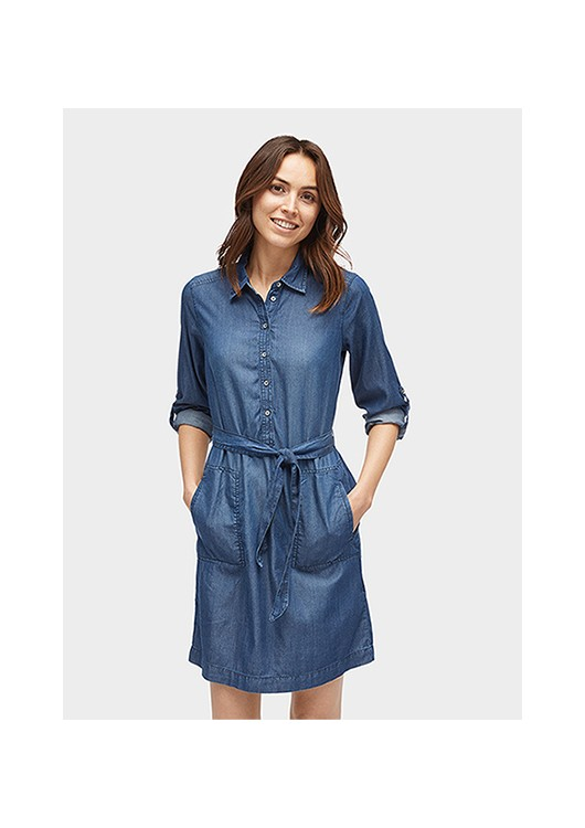 Tom Tailor dámské džínové šaty - Superjeans.cz 6c9cc1a916d