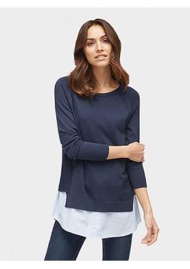 Tom Tailor dámský svetr s košilí