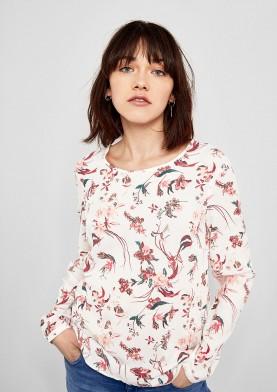 s.Oliver dámská tunika s květinovým vzorem