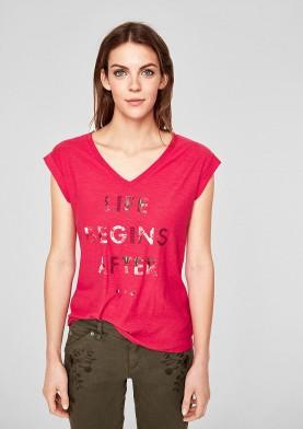 s.Oliver dámské tričko s výstřihem