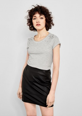 s.Oliver Q/S dámské tričko s perličkami