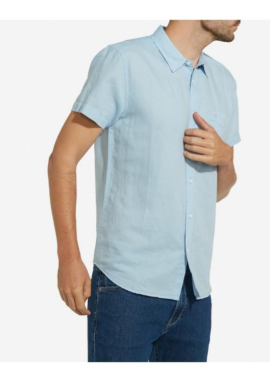 Wrangler lněná košile s krátkým rukávem · Obrázek (1) ... 611459380c