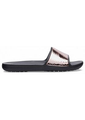 Crocs Sloane Hammered Met Slide
