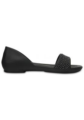 Crocs Lina Emblished Dorsay Black
