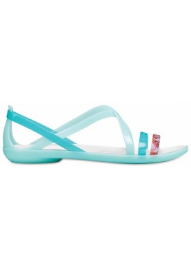Crocs Isabella Cut Sandal New Mint