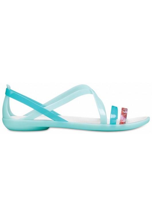 Crocs Isabella Cut Sandal New Mint