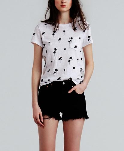 Levis dámské tričko 18672-0083 Bílá L