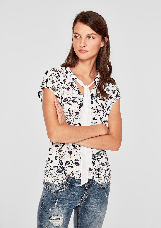 s.Oliver dámské tričko Bílá 34