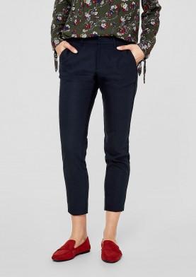 s.Oliver dámské kalhoty v kotníkové délce