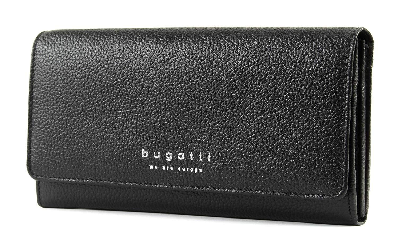 Bugatti dámská kožená peněženka 49367701 Černá