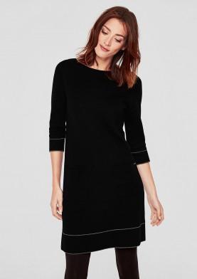 s.Oliver dámské šaty z úpletu
