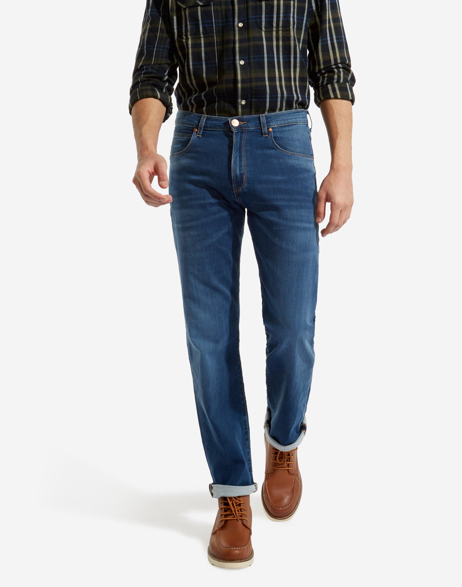 Wrangler pánské džíny Arizona W12OBW20F Modrá W36 L34 88f92a2457